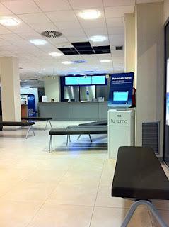 Presencia de Q·sige en las oficinas de BBVA.