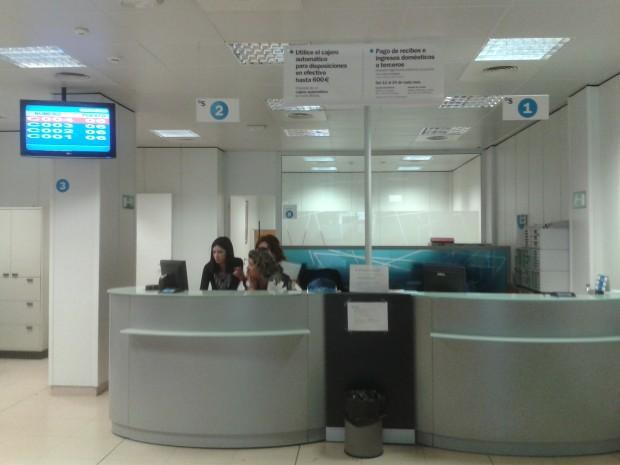 Banco sabadell instala q sige en sus oficinas for Oficinas sabadell malaga